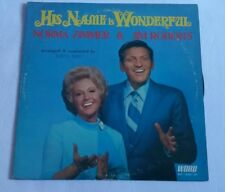 His Name Is Wonderful Norma Zimmer & Jim Roberts Conducted By Buryl Red Vinyl LP
