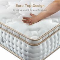 BedStory 10 12 Inch Gel Infused Memory Foam Hybrid Mattress Twin Full Queen King
