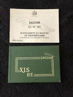 Jaguar XJS HE V12 1981-82 Owners Manual Handbook En Francais French OEM