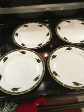 Montgomery Ward Cherubs Angel Pattern Dinner Plates - 4 Beautiful