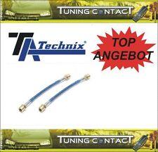 TA-Technix Stahlflex-Bremsleitung HA Seat Toledo VW Golf 2+3 T4 Vento uvm (001P)