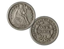 1837-1891 Seated Liberty Dime - A Rare Design