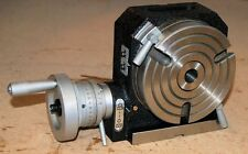 """5"""" 125 MM Vertical / Horizontal Rotary Table for Milling Machine from Chronos"""