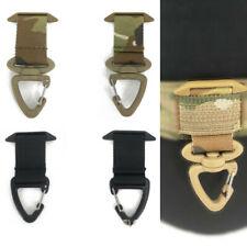 2Pcs Tactical Molle Belt Ring Webbing Mount Adapter Key Holder Hang Hook Buckle