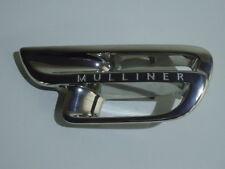 Bentley Mulsanne Mulliner Kotflügel Logo Blende R Fender Trim Badge FOR AIR VENT