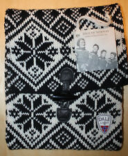 Dale of Norway Nordic Wool iPad Case Black & White NWT Trekk