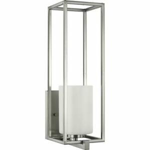 "Progress Lighting P710089 Chadwick 18"" Tall Bathroom Sconce - Nickel"