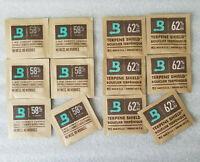 Boveda 58 62 Variety combo pack 8 gram packs - 6 Packs of 58% + 6 Packs of 62%