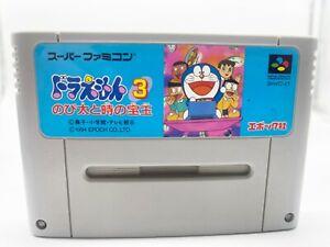 Vintage Video Game Nintendo Super Famicom SNES Doraemon 3