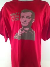 Bill Murray Christmas To You Mens Graphic Tee 3XL