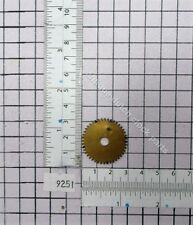 DIAL GEAR TO POWER THE MOON DISC OF FRIESIAN OR SCHIPPERTJE DUTCH CLOCKS