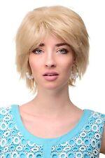 Coole Kurze! Damen Perücke etwas wild gestyled helle Blond Mischung Wig TYW60306