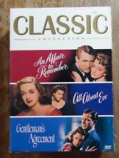 Three Classic Movies Collection Dvds (All About Eve, Affair, Agreement)