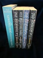 Lot Livres quatre filles et un jean 5 Tomes série complète Gallimard jeunesse