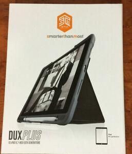 """STM DuxPlus Smart Black Cover / Case for Apple iPad 9.7"""" 6th Gen"""