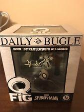 Marvel's Spider-Man Q-Fig Figure by Quantum Mechanix Qmx Loot Crate June 2017 Ex