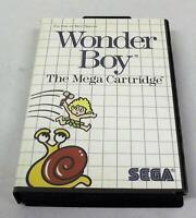 Wonder Boy Sega Master System PAL *Complete*