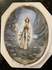 Our Lady Of Lourdes Collectible Plate Bradex Exchange