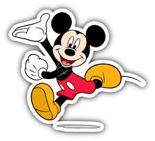 Mickey Mouse Jumping Cartoon Car Bumper Sticker Decal 4'' x 5''
