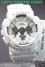 GA-120A-7A White Casio Men's Watch G-Shock Analog Digital 200M-WR Resin Band