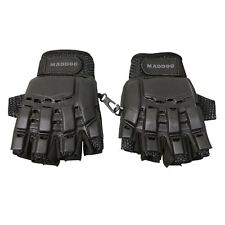 Maddog® Half-Finger Gloves - Black - Small / Medium