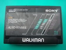 Sony Wm-F501 Cassette Player Walkman Black! From Personal Collection