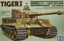 PZ.KPFW VI AUSF.E TIGER I /LATE PRODUCTION SERIE/ (WEHRMACHT MKGS) 1/35 TAMIYA