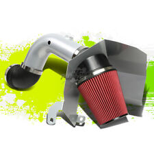SILVER COLD AIR INTAKE PIPE+HEAT SHIELD FOR 03-07 DODGE RAM 2500/3500 5.9 DIESEL