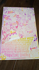 2017 SDCC WONDERCON EXCLUSIVE IDW POSTER JEM AND THE HOLOGRAMS MISFITS INFINITE