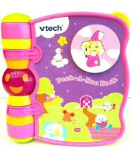 V Tech Peek A Boo Nursery Rhyme Pink Baby Book Interactive With Light And Sound