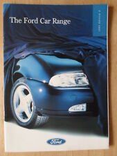 FORD RANGE 1995 UK Mkt Brochure -Escort RS 2000 4x4 Cosworth Fiesta Probe Mondeo