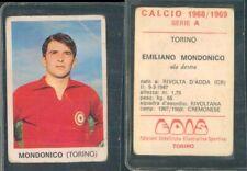 R@R@ FIGURINA EDIS COLLEZIONE 1968/69 - TORINO -MONDONICO