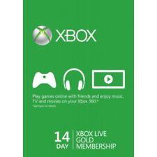 Microsoft XBOX Live Gold Card 14 Giorni Invio Rapido Global Key Digital Download