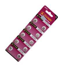 10 Pieces AG2 LR726 397 396A SR726 196 Button Coin Cell 1.55V Alkaline Battery