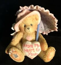 Cherished Teddies Victoria #916293 - From My Heart To Yours - IOB