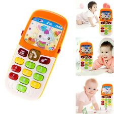 Baby Kid Musical Mobile Phone for Toddler Sound Hearing Educate Learning Toy ME