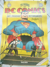 75 YEARS DC Comics Superman Poster Taschen Verlag