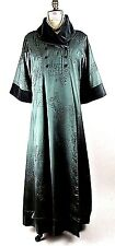 Vintage Theatrical Oriental Long Coat Green Nataya Jacket Victorian,Renaissance