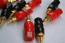 6 PAIR -5 WAY SPEAKER CABLE AMPS TERMINAL BINDING POSTS
