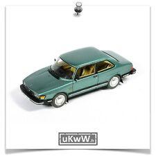 Neo 1/43 - Saab 90 1985 vert métallisé