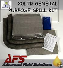 20 Ltr GENERAL PURPOSE EMERGENCY SPILL KIT OIL FLUID ++