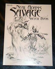 NEAL ADAMS  SAVAGE  SKETCH BOOK-2005