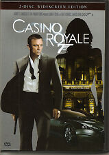 Casino Royale (DVD, 2007, 2-Disc Set, Widescreen) With slip cover