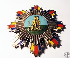 "Chinese  Imperial Military Medal ,  Order ,  Breast Star "" Striped Tiger "" ."
