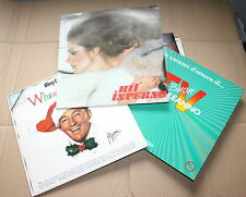 3 LP BUON COMPLEANNO TV   HIT INFERNO   BING CROSBY WHITE CHRISTMAS