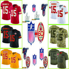 15 Patrick Mahomes Kansas City Chiefs Line Super Bowl LIV Champions Jersey S-3XL