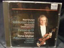 R. Schumann - Violinkonzert / Fantasie op.131  -Zehetmair / Eschenbach