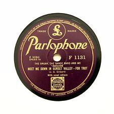 "BILLY THORBURN ""Meet Me Down In Sunset Valley"" (EE+) PARLOPHONE F-1131 [78 RPM]"