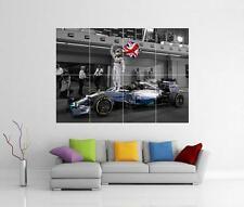 Lewis Hamilton Lona F1 Fórmula Uno Mercedes Arte Foto Impresión Poster Gigante