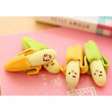 Funny Banana Soft Rubber Pencil Erasers Safety Scented Gift Toys for Student Kid